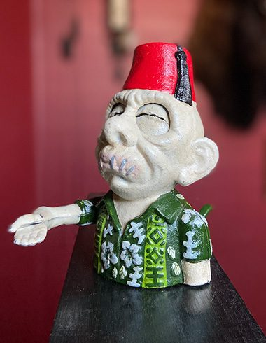 Zombie Shriner Coin Bank
